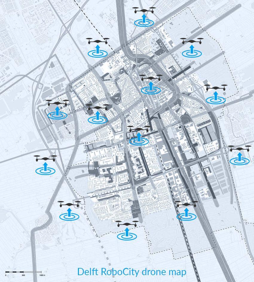 Delft drone map